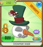 Snowman Mask4