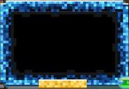 Masterpiece Blue-Pixel-Frame