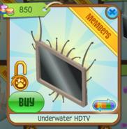 Underwater HDTV brown