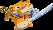 Tiger sword
