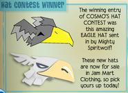 Jamaa-Journal 81 Cosmos-Hat-Contest-Winner