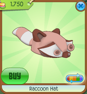 Shop Raccoon-Hat Brown