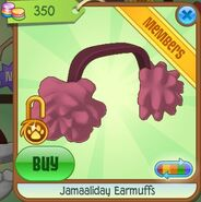 Jamaaliday Earmuffs (Dark-Pink)