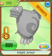 Shop Knight-Armor Silver