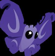 Pet butterfly purple