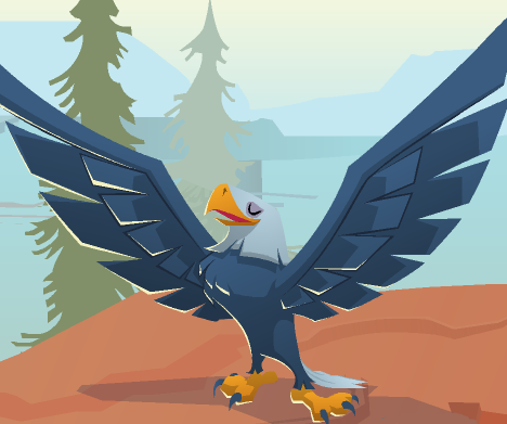 Eagle animal jam wiki fandom powered by wikia - How to get a bat on animal jam ...