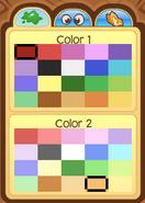 Pet Dolphin Color Choices