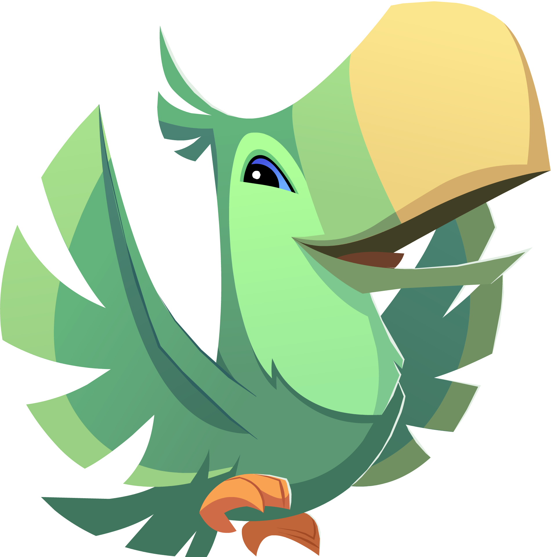Image Green Toucan Png Animal Jam Wiki Fandom
