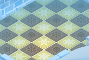Snow-Fort Yellow-Diner-Tiles