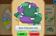 Daily-Spin-Gift Rare-Patched-Hat