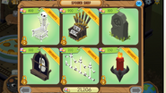 Shop Spooky-Party Den-Items