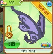 Faerie Wings (Purple-Gray)