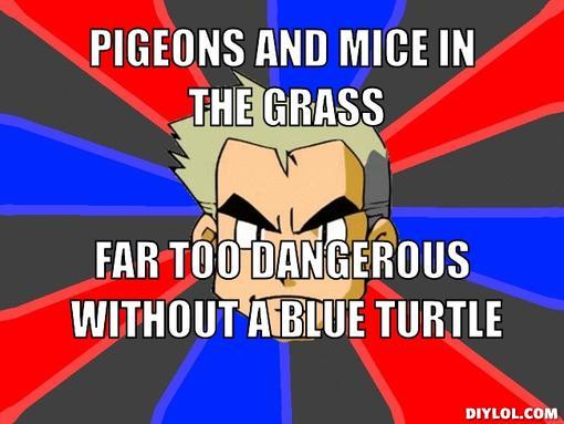 latest?cb=20150402070947 image professor oak meme generator pigeons and mice in the grass,Turtle Meme Generator