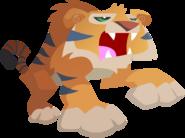 Animal jam tiger vector by shayla567-d54sz8o