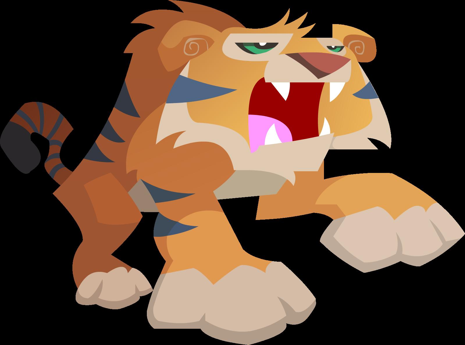 Animal Jam Tiger Vector By Shayla567d54sz8o