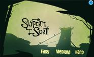Game Menu of Super Sort