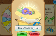 Daily-Spin-Gift Rare-Gardening-Hat
