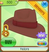 Shop Fedora Brown