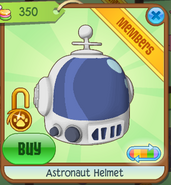 Shop Astronaut-Helmet Blue