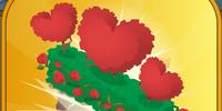 Three Heart Topiary