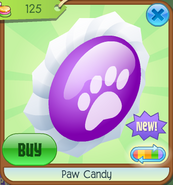 Paw Candy (Purple)