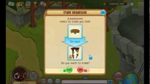 Learn how to trade in Animal Jam