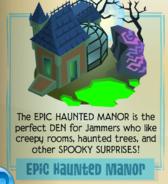 Epic haunted manor jamaa journal