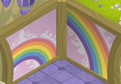 Fantasy-Castle Rainbow-Pink