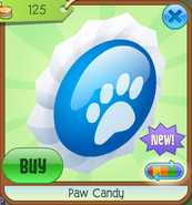 Paw Candy (Blue)