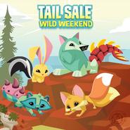 Wild-Weekend Tail-Sale