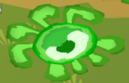 Green phantom rug