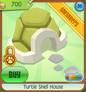 Pets-Only-Shop Turtle-Shell-House Yellow