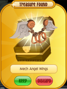 Meet-Cosmo Koala Mech-Angel-Wings Orange