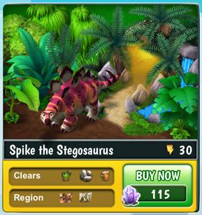 SpikeStegosaurus
