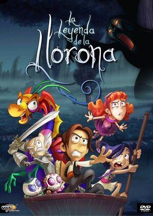 La Leyenda De La Llorona DVD cover