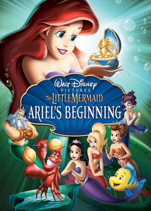 The Little Mermaid Ariel's Beginning feature film