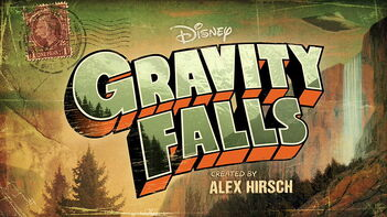 Gravity Falls Title Card