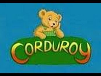 Corduroy TV show title card poor quality