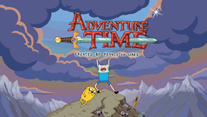 Adventure Time Title card