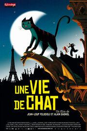 A Cat in Paris 2010 Poster