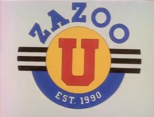 Zazoo U Title Card