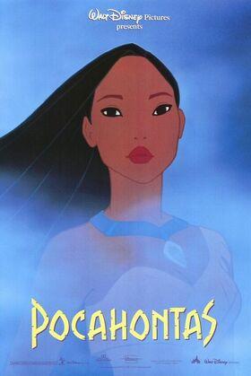 Disney pocahontas poster