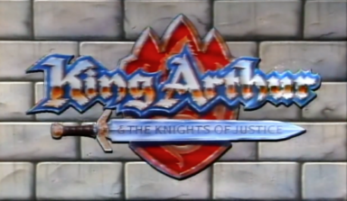 King Arthur & The Knights Of Justice Title Card