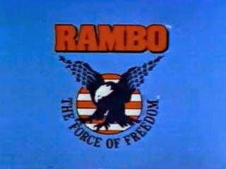 Rambo the force of freedom logo