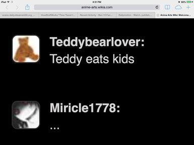 He eats what?
