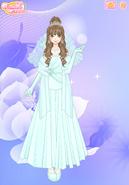 Angel Dahlia (Bridal Form)