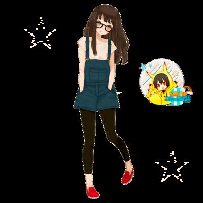 Render anime girl by killerjeff234-d6qif6v