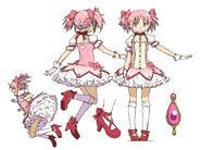 Madoka Kaname Anime Design
