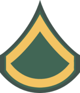 Army Private 1st Class
