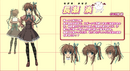 Minato Nagase Anime Design